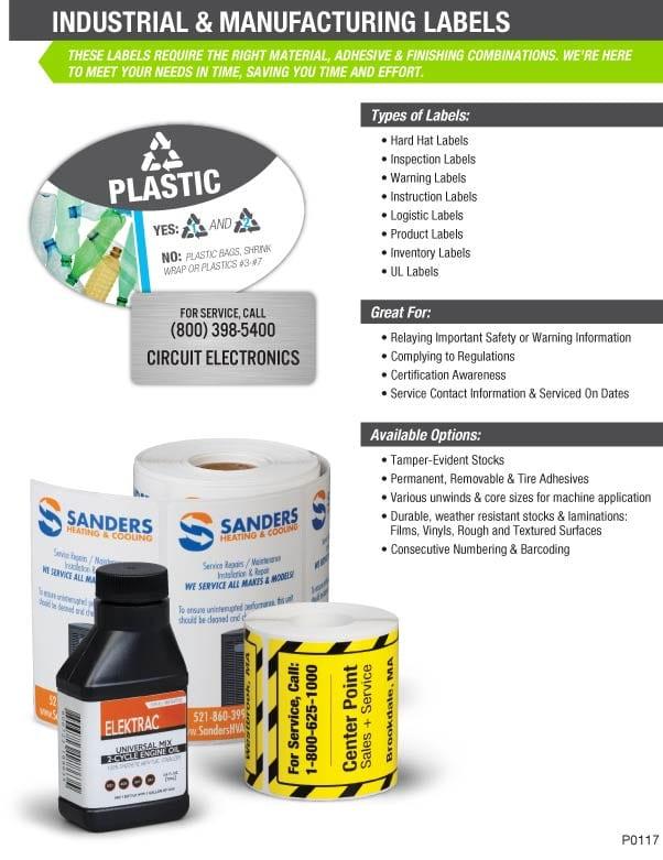 industrial label printing