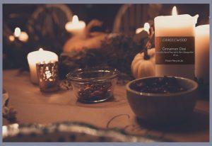 custom candle labels