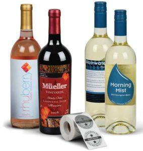 customized wine label design
