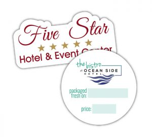 Hospitality labels
