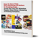 Choosing a Printing Company report