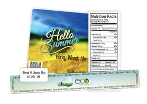 labels for food products