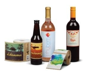 labels for wine bottles