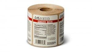 Roll label printing